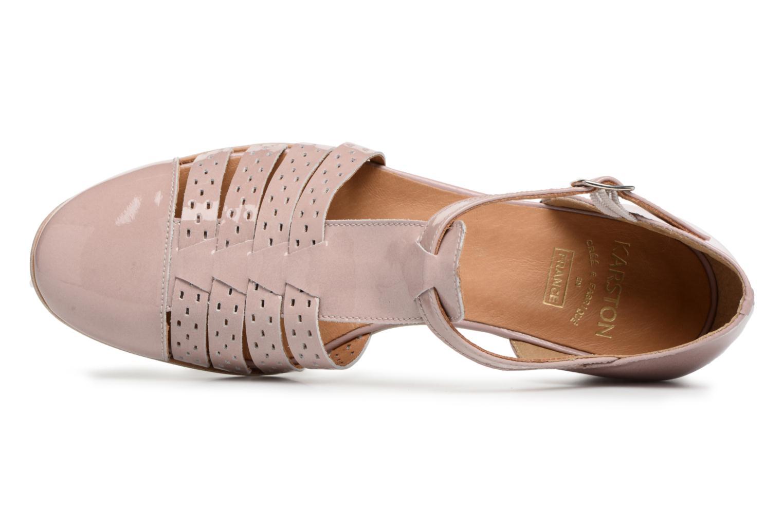 Sandales et nu-pieds Karston Jobano Rose vue gauche