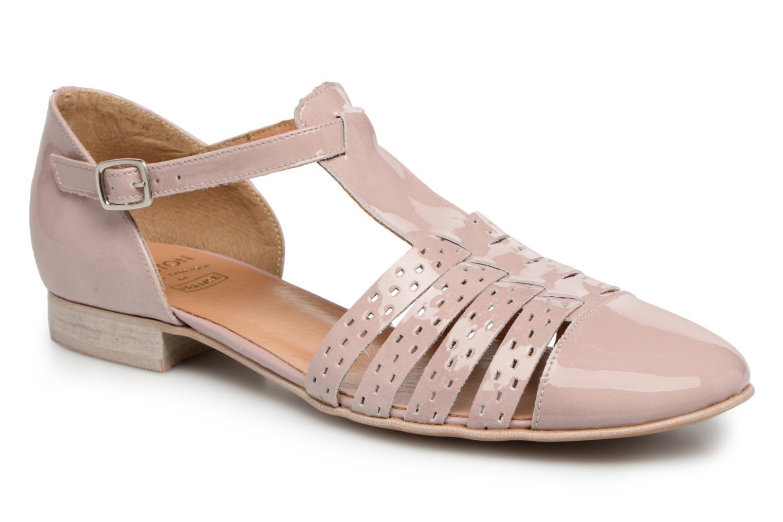 Sandales et nu-pieds Karston Jobano Rose vue détail/paire