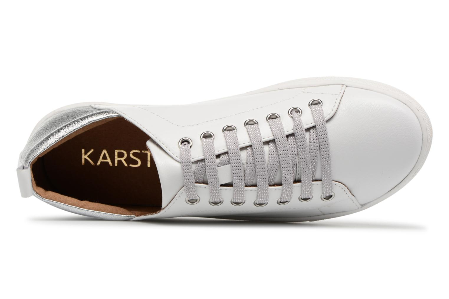 Trainers Karston Tafy White view from the left