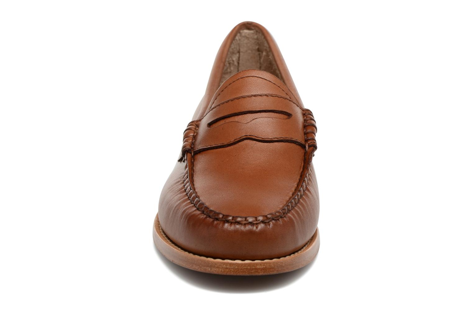 Loafers G.H. Bass WEEJUN WMN Penny Burnish Brown model view