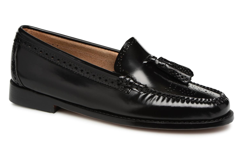 Grandes descuentos últimos zapatos G.H. Bass WEEJUN WMN Estelle Brogue (Negro) - Mocasines Descuento