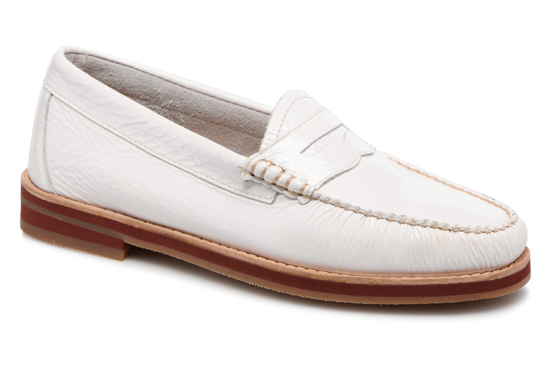 Grandes descuentos últimos zapatos G.H. Bass SPRING WEEJUN  Penny Wrinkle (Blanco) - Mocasines Descuento