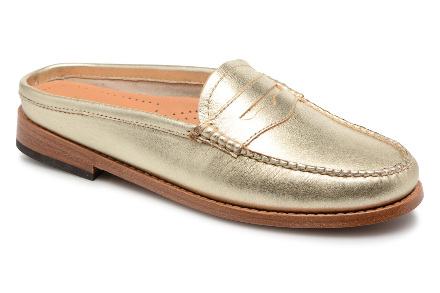 G.H. Bass - Damen - WEEJUN WMN Penny Wheel Print - Slipper - gold/bronze