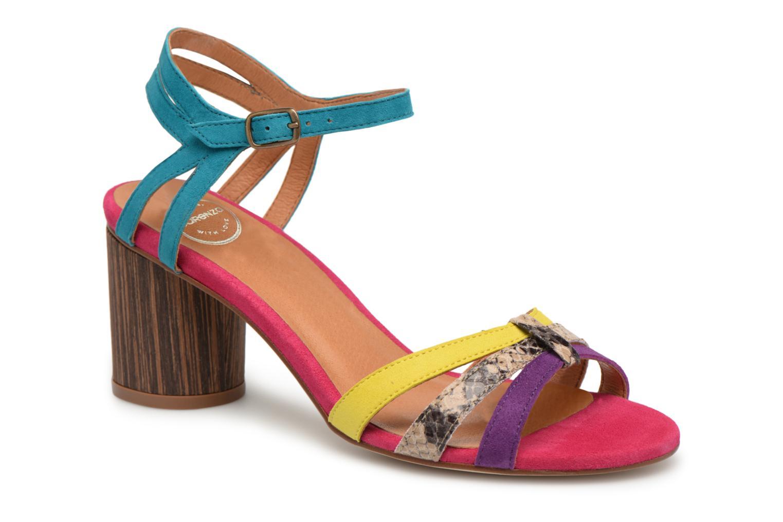 Sandalen Made by SARENZA Carioca Crew Sandales à Talons #4 Multicolor rechts