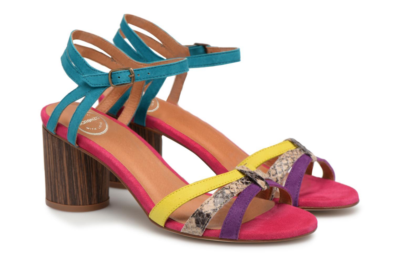 Sandalen Made by SARENZA Carioca Crew Sandales à Talons #4 Multicolor achterkant
