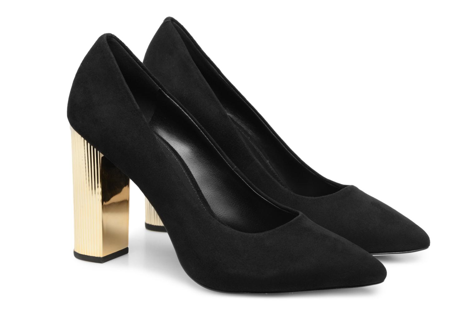 High heels Michael Michael Kors Paloma Pump Black 3/4 view