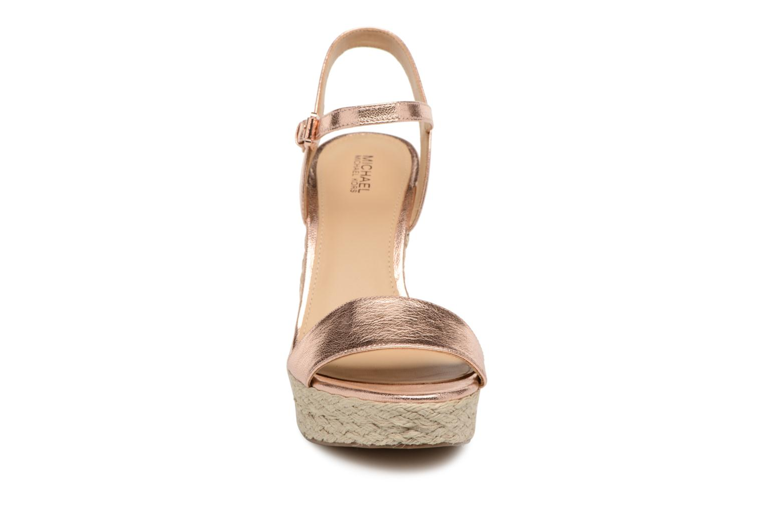 Espadrilles Michael Michael Kors Jil wedge Pink model view
