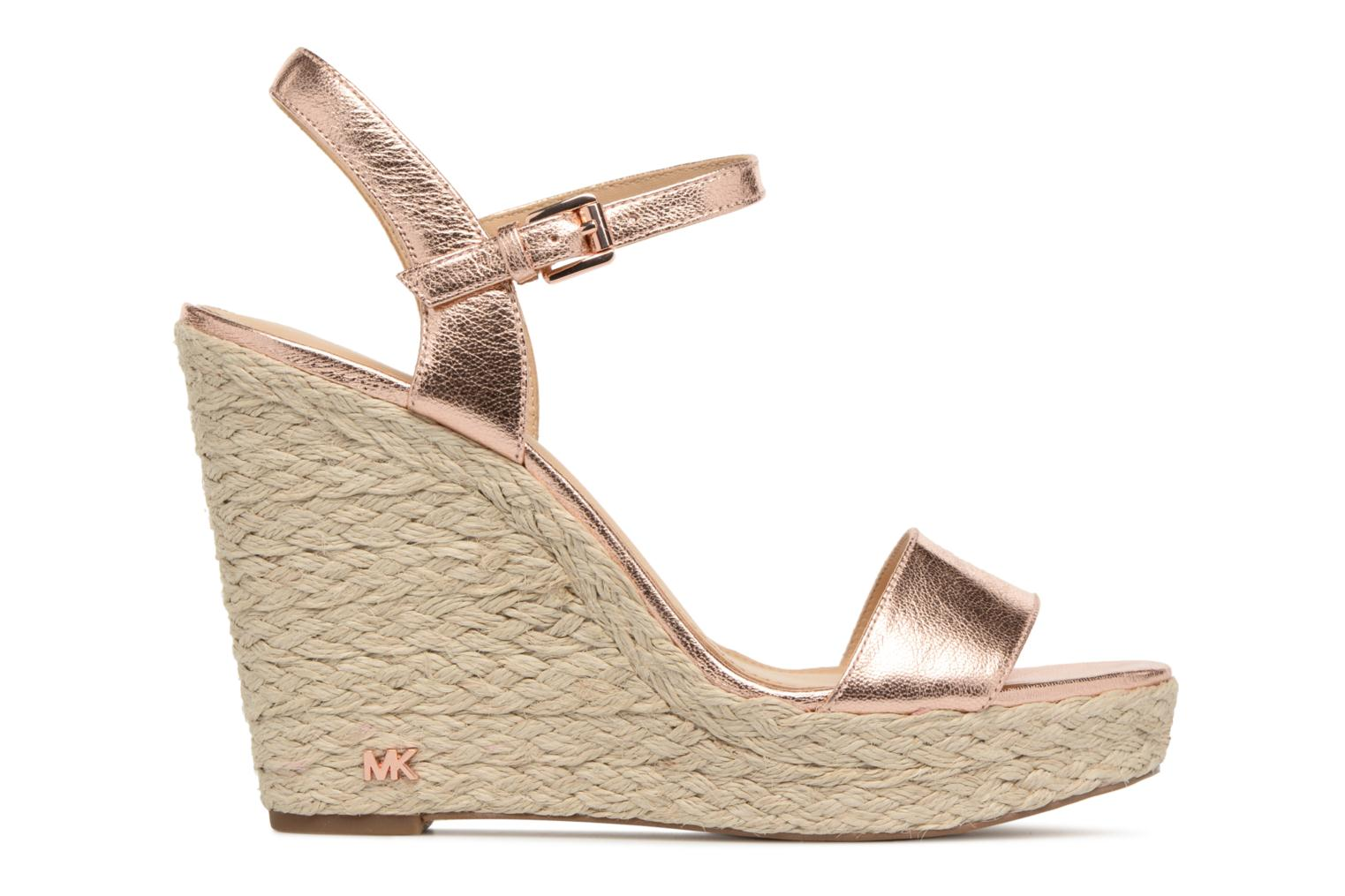 Espadrilles Michael Michael Kors Jil wedge Pink back view