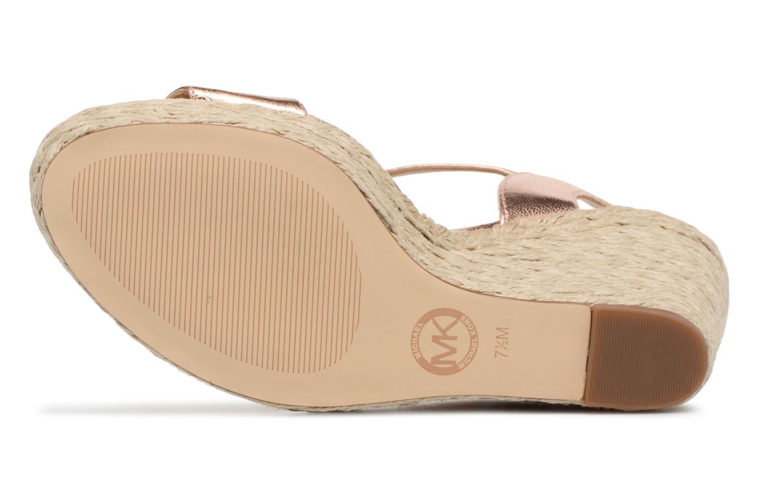 Espadrilles Michael Michael Kors Jil wedge Pink view from above