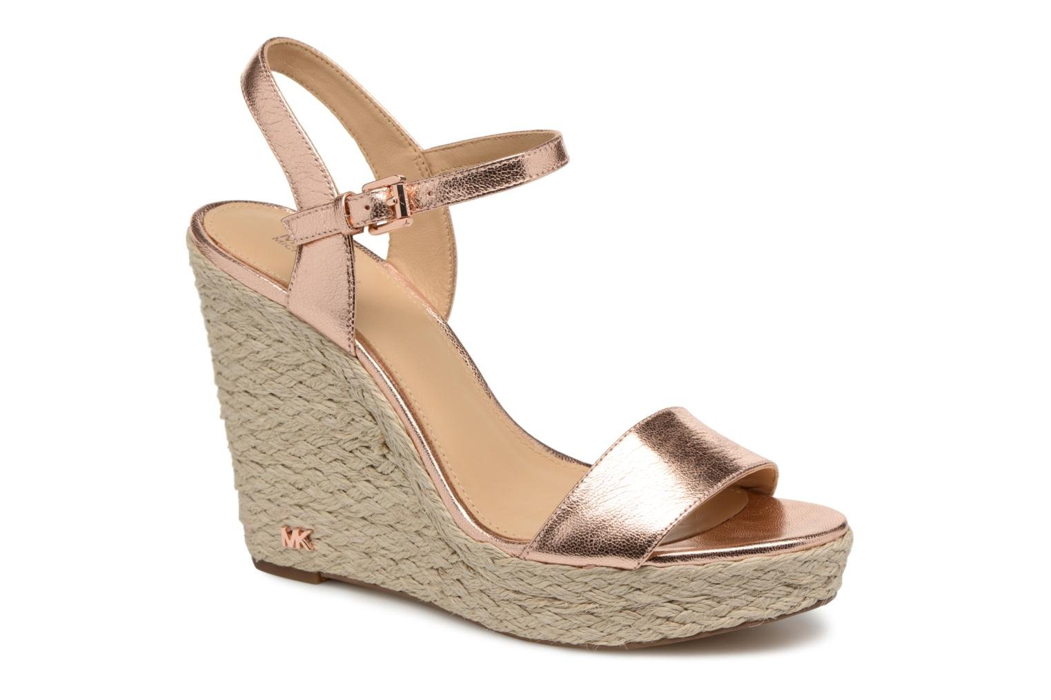 Espadrilles Michael Michael Kors Jil wedge Pink detailed view/ Pair view