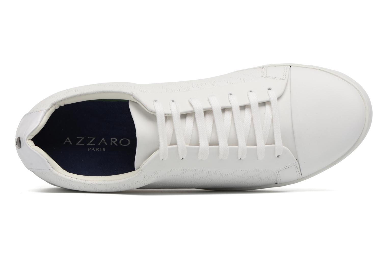 Baskets Azzaro Caldier Blanc vue gauche