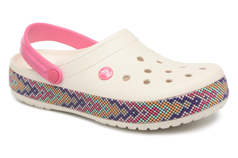 Grandes descuentos últimos zapatos Crocs Crocband Gallery Clog (Rosa) - Zuecos Descuento