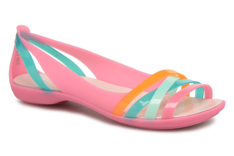 Sandali e scarpe aperte Crocs Isabella Huarache 2 Flat W Multicolore vedi  dettaglio/paio