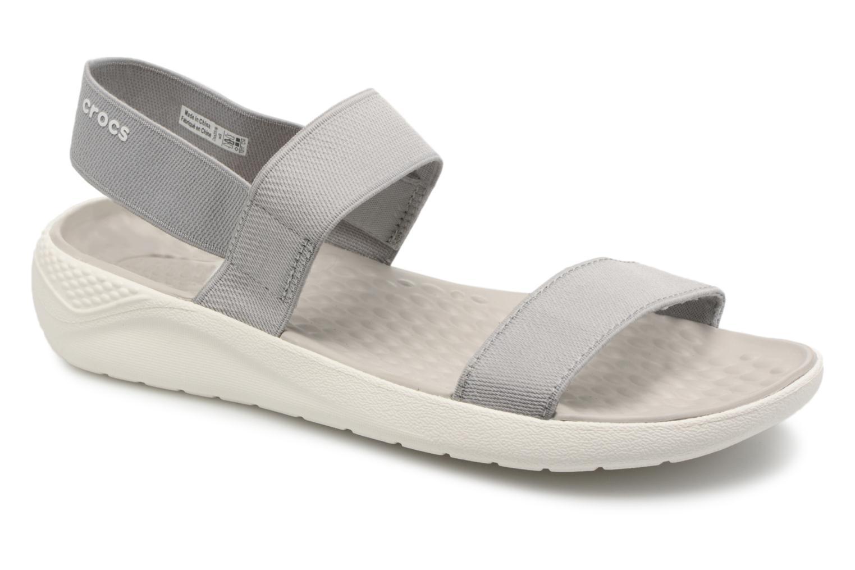 Crocs LiteRide Sandal W (Gris) - Sandales et nu-pieds chez Sarenza (312511)