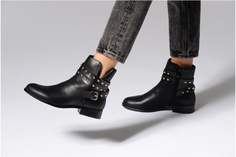 Bottines et boots Buffalo Cléa Boots Noir vue bas / vue portée sac