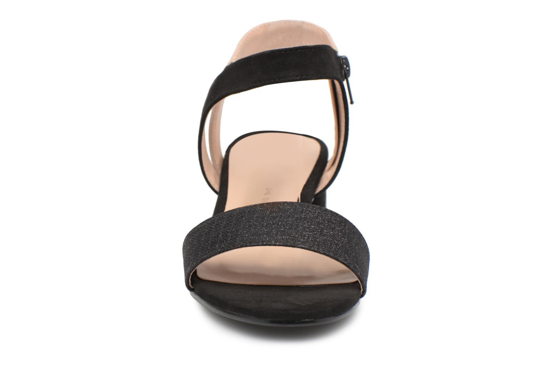 Sandales et nu-pieds Divine Factory Eksa Noir vue portées chaussures