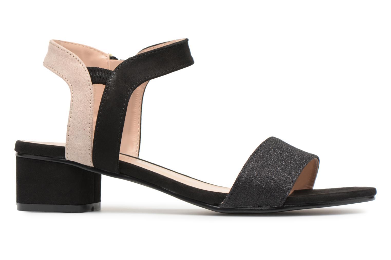 Sandales et nu-pieds Divine Factory Eksa Noir vue derrière