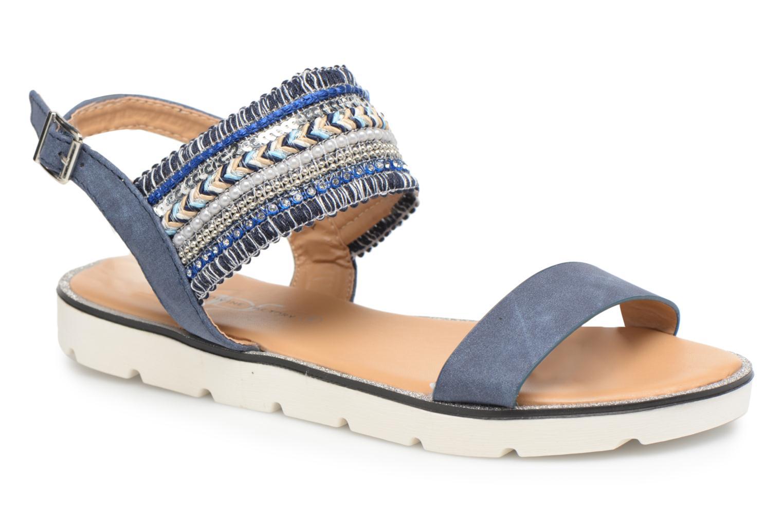 Divine Factory Anna (Bleu) - Sandales et nu-pieds chez Sarenza (312579)
