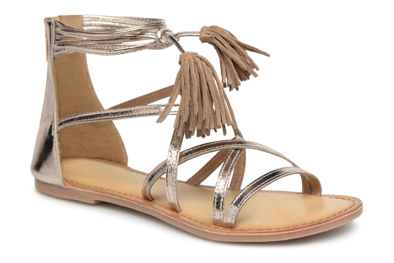 I Love Shoes Kemila Leather (Or et bronze) - Sandales et nu-pieds chez Sarenza (312632)