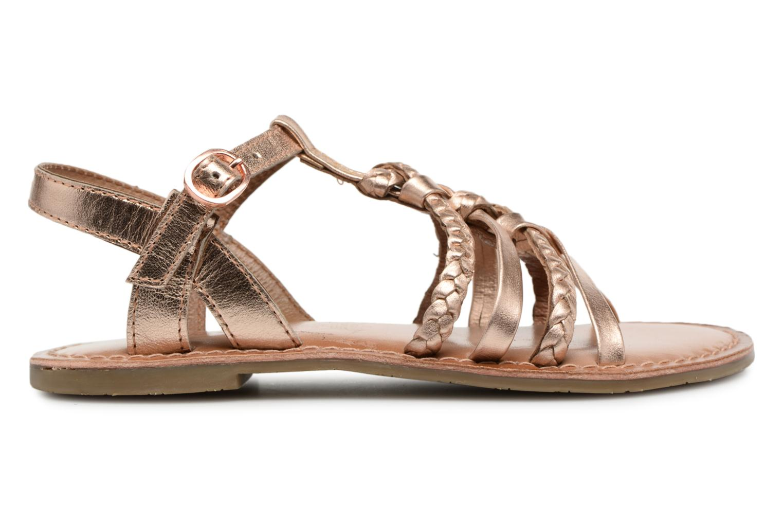 Sandaler I Love Shoes Keliana Leather Bronze och Guld bild från baksidan