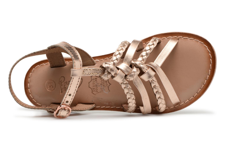 Sandaler I Love Shoes Keliana Leather Bronze och Guld bild från vänster sidan