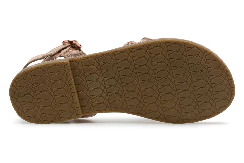 Sandaler I Love Shoes Keliana Leather Bronze och Guld bild från ovan