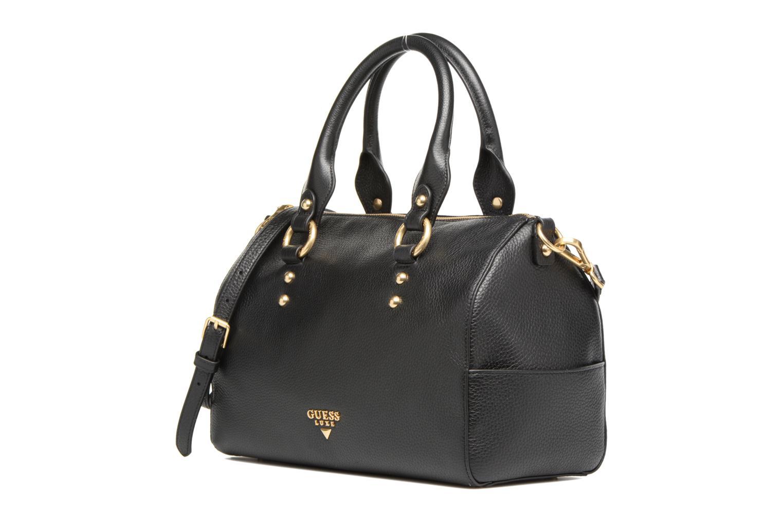 Handtassen Guess Bonnie Box satchel Zwart model
