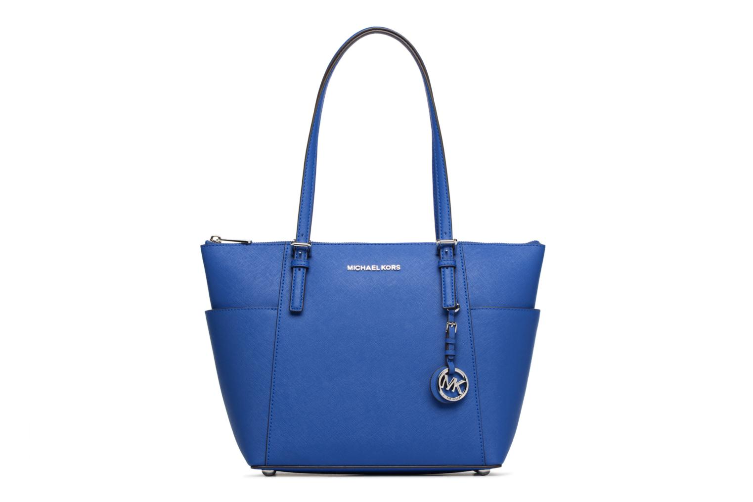 Cabas JET SET ITEM EW TZ Tote Zippé 446 ELECTRIC BLUE