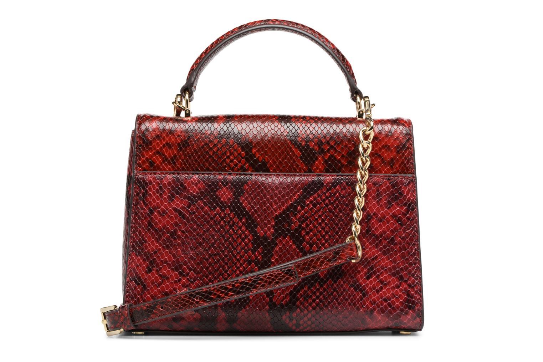 Bolsos de mano Michael Michael Kors SLOAN MD DOUBLE FLAP Rojo vista de frente