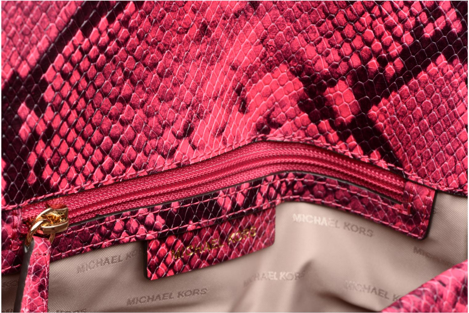 SLOAN MD DOUBLE FLAP 600 RED GLOSSY LUXE PYTHON