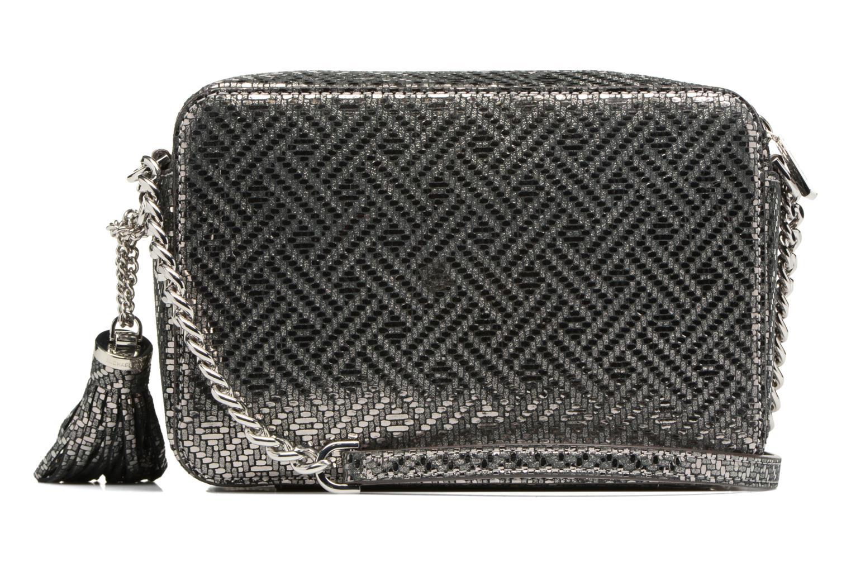 Bolsos de mano Michael Michael Kors Ginny MD Camera Bag Plateado vista de frente