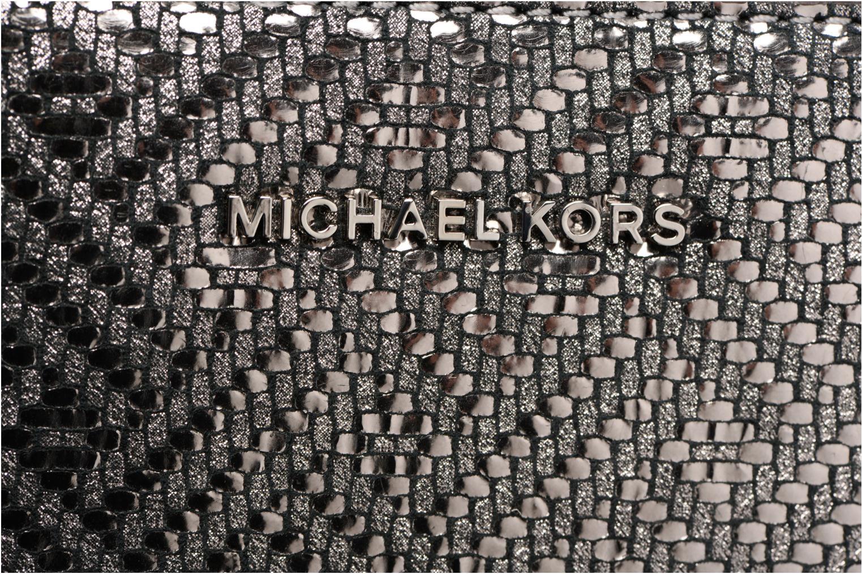 Bolsos de mano Michael Michael Kors Ginny MD Camera Bag Plateado vista lateral izquierda
