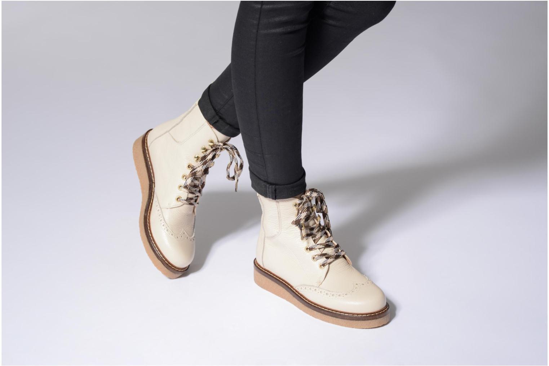 Stiefeletten & Boots Jonak MIMI Boots beige ansicht von unten / tasche getragen