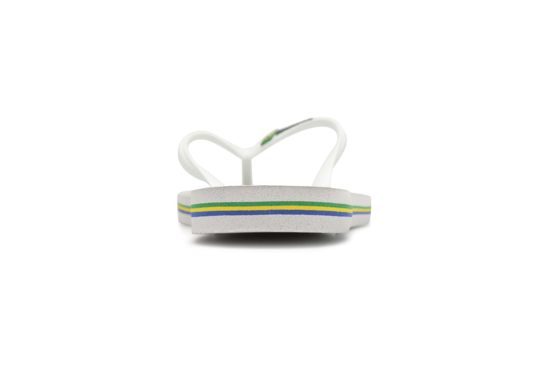 Slim Brasil Logo White