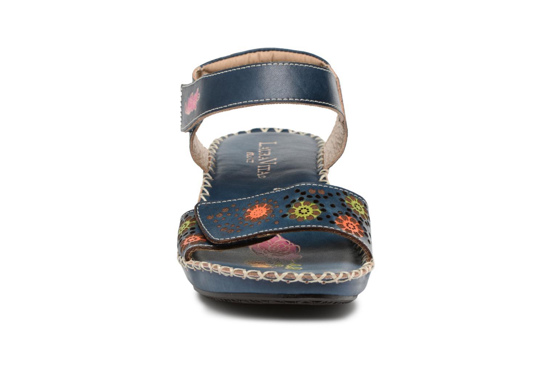 Sandales et nu-pieds Laura Vita Betsy67 Bleu vue portées chaussures