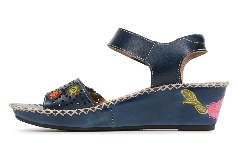 Sandales et nu-pieds Laura Vita Betsy67 Bleu vue face