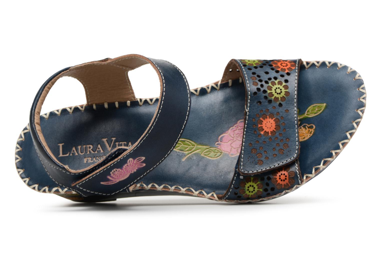 Sandales et nu-pieds Laura Vita Betsy67 Bleu vue gauche
