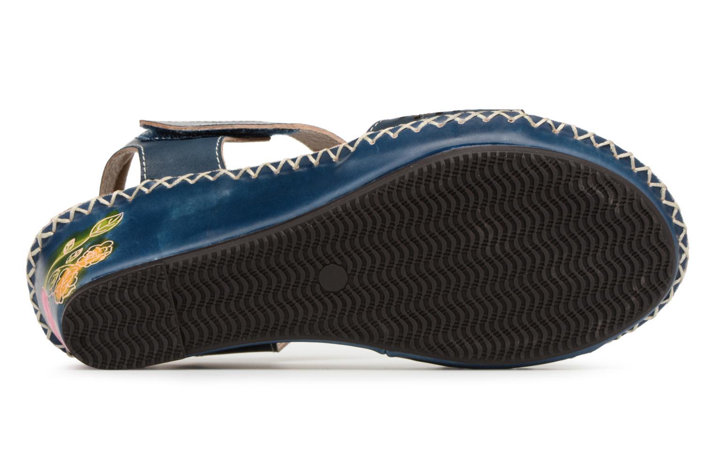 Sandales et nu-pieds Laura Vita Betsy67 Bleu vue haut