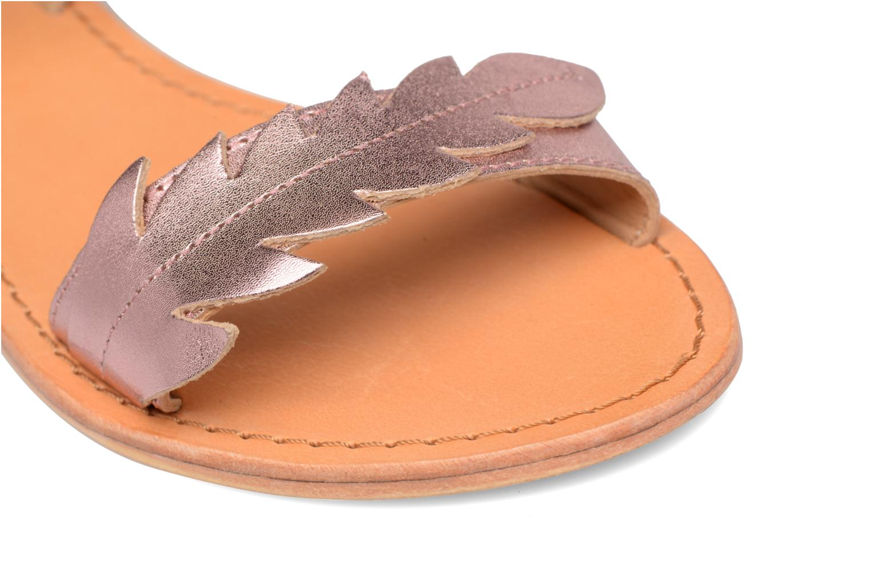 Sandales et nu-pieds Made by SARENZA Carioca Crew Sandales Plates #4 Rose vue gauche