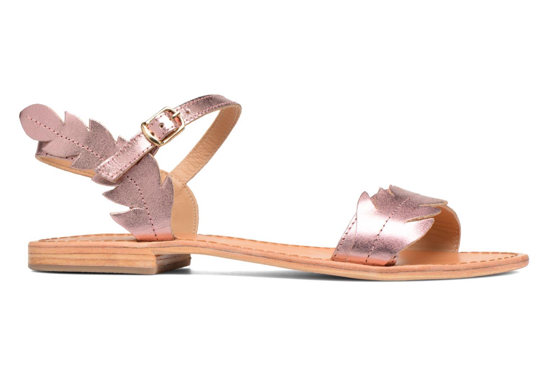 Sandales et nu-pieds Made by SARENZA Carioca Crew Sandales Plates #4 Rose vue détail/paire
