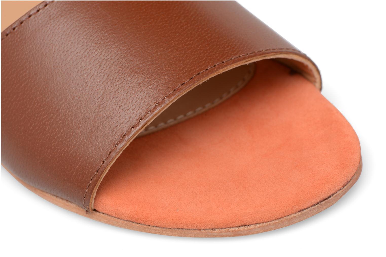 Sandales et nu-pieds Made by SARENZA Carioca Crew Sandales Plates #5 Marron vue gauche