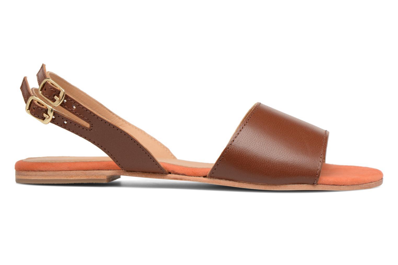 Sandales et nu-pieds Made by SARENZA Carioca Crew Sandales Plates #5 Marron vue détail/paire