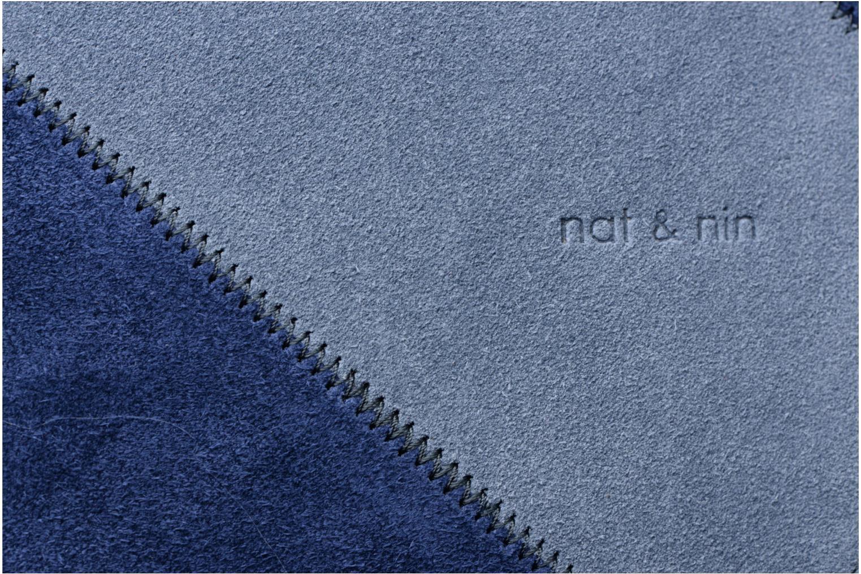 Handtaschen Nat & Nin Marloes blau ansicht von links