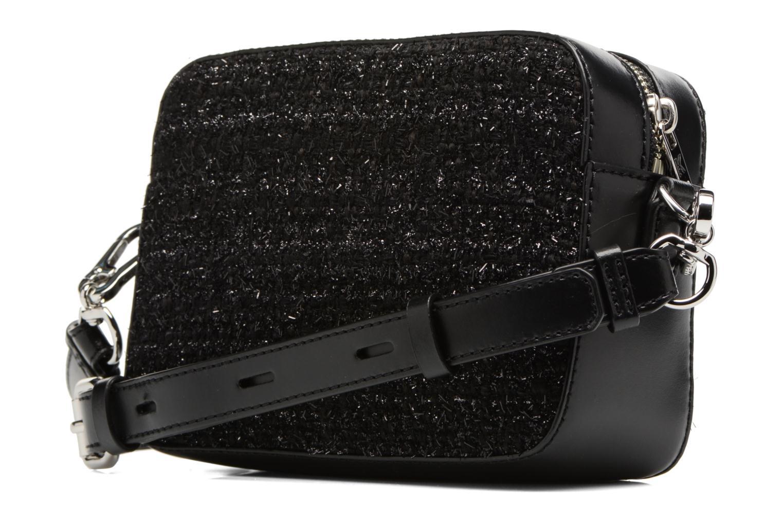 Sacs à main Karl Lagerfeld K Klassik Pins Camera Bag Noir vue droite