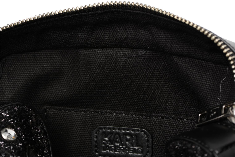 Sacs à main Karl Lagerfeld K Klassik Pins Camera Bag Noir vue derrière