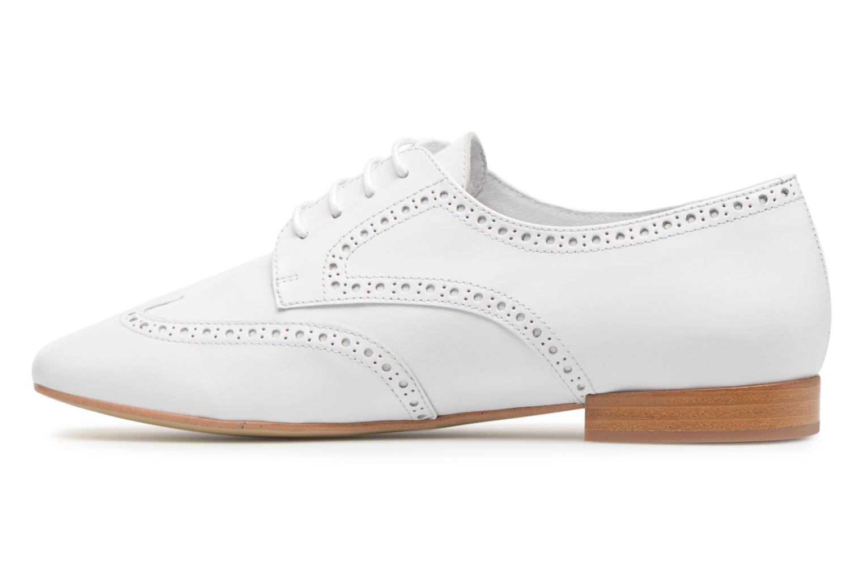 Chaussures à lacets Georgia Rose Taflora Blanc vue face