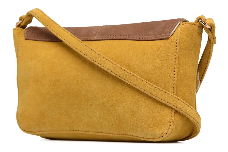 Handtassen Petite mendigote Crossbody Isaure Geel rechts