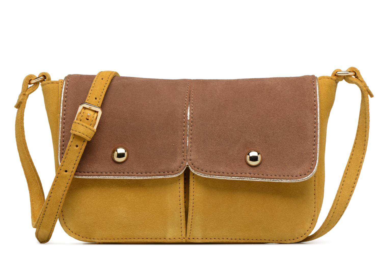 Handtassen Petite mendigote Crossbody Isaure Geel detail