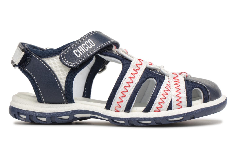 Sandalen Chicco Calimero blau ansicht von hinten