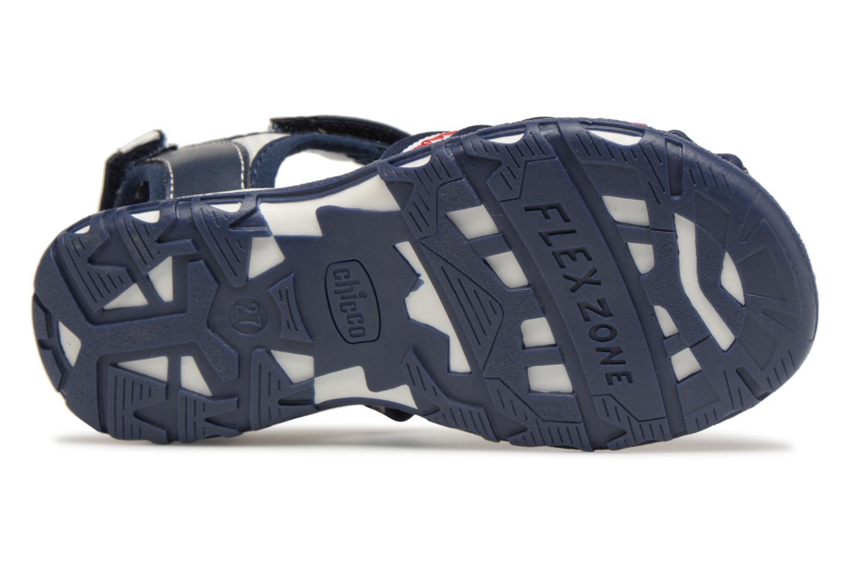 Sandales et nu-pieds Chicco Calimero Bleu vue haut